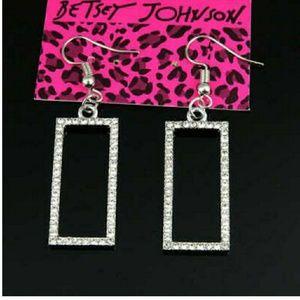 Betsey Johnson earrings. NWOT